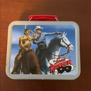 The Lone Ranger mini tin Lunch box